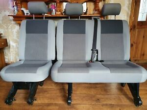 Van Seats 1 Single And 1 Double With Seat Belt .double seat folds up.