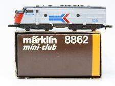 Z Scale Marklin 8862 Amtrak F7A Diesel Locomotive #105 Does Not Run
