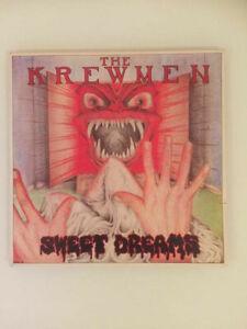 ♫ LP 1987 The Krewmen SWEET DREAMS Lost Moment LMLP 010 UK Rare Erstpressung NM♫