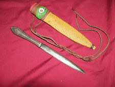 Old Trench Dagger Neck Knife Vietnam Biker Hippie Vintage Fighting Survival Army