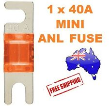 1 x 40AMP Mini ANL Fuse for Car Amplifier Wiring Kit Fuse Holders 40A - Midi AFC