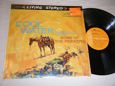 SONS OF THE PIONEERS LP Cool Water LIVING STEREO 1959 RCA Victor LSP-2118 EX+