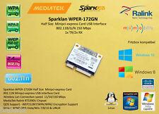 Sparklan WPER-172GN USB over Minipci-express 802.11b/g/n 150 mbps RT5390U
