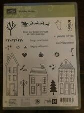 Stampin Up! HOLIDAY HOME Stamps & HOMEMADE HOLIDAY Framelit Dies