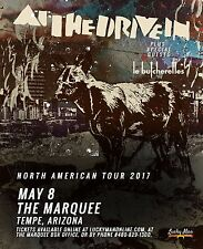 "AT THE DRIVE-IN ""NORTH AMERICAN TOUR 2017"" PHOENIX CONCERT POSTER-Art Punk Music"
