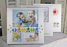 Fotorahmen Silbermatt Kinder/Familie/Baby Bilderrahmen 10x15cm stehend