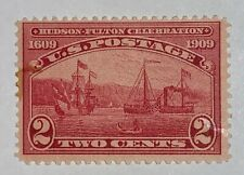 Travelstamps: 1909 Us Stamps Scott #372 , S.S. Clermont, 2 cents, mint, og, mnh