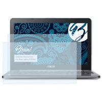 Bruni 2x Proteggi Schermo per Asus Laptop E203NA Pellicola Protettiva