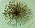 """TWO's COMPANY Spiky Wall Art Statement Decorative Industrial  7"""" wide X 4"""" high"""