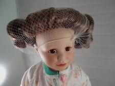"Amanda By Susan Wakeen 16"" Porcelain Doll Danbury Mint Condition Nib No Coa"