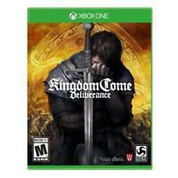 Kingdom Come Deliverance (Microsoft Xbox One, 2018) Brand New Sealed
