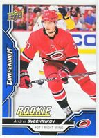 2018-19 Upper Deck Compendium Series 2 BLUE ROOKIE RC Andrei Svechnikov