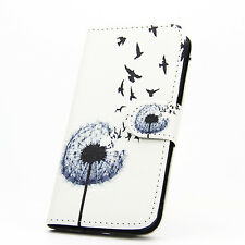 Wallet Magnetic Patterned Floral Flip Leather Stand Case Cover for Phone LG G4 Style 9 Jade Flower