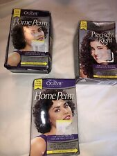 3 OGILVIE PRECISELY RIGHT PERM -COLOR-TREATED-THIN OR DELICATE HAIR Box Damage