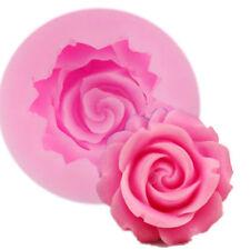 Rose Flor Molde de silicona molde para decoración de pasteles de chocolate reposterìa Glaseado Boda