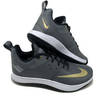 Nike Fly.By Low II Men's Basketball Shoes AJ5902 002 Dark Grey Gold Size 8.5