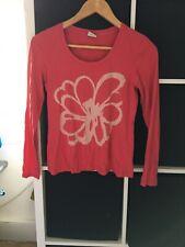 Esprit XS Pink Flower Long Sleeve T-shirt (D3)