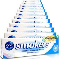 12x Pearl Drops Smokers Stain Gel Tooth Paste Toothpaste 50ml