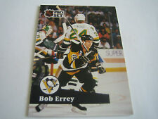 1991/92 PRO SET HOCKEY BOB ERREY CARD #187***PITTSBURGH PENGUINS***