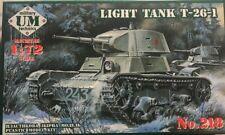 1/72 WW2 Vehicle : T-26-1  Light Tank  [USSR] : UM