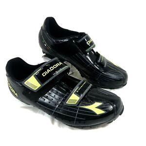 Men's GUC X Phantom Cycling Shoes Black MTB Sz 41 US 8