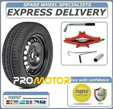 """PEUGEOT 3008 2008-2016 16"""" FULL SIZE STEEL SPARE WHEEL AND TYRE+ TOOL KIT"""