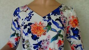 SIZE-12, ANTHEA CRAWFORD Jersey Dress Made in Australia.