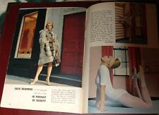 1963 KANSAS CITY TV GUIDE~SEXY JULIE NEWMAR CATWOMAN on BATMAN SERIES~DRAGNET