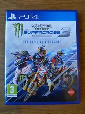 Monster Energy Supercross - The Official Videogame 3 (PlayStation 4 - PS4)