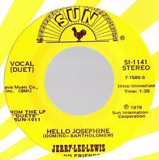"JERRY LEE LEWIS SINGLE SUN SI-1141 "" HELLO JOSEPHINE "" [USA]  (2)"