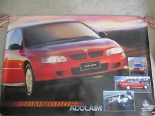 HOLDEN COMMODORE VX  ACLAIM LARGE DEALER POSTER   1000X 690