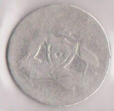 (H43-12) 1912 AU six pence sterling silver coin (space filler)