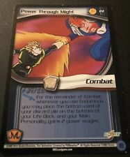 Dragon Ball Z CCG Power Through Might P2!! Babidi Saga Promo!!