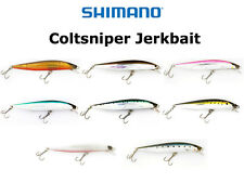 NEW Shimano Coltsniper Jerkbait **CHOOSE SIZE AND COLOR**