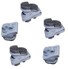 5 X Caravan Clamp On Awning Bracket Pads, Isabella, Kampa, Bradcot Dorema 649503