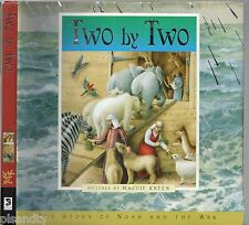 TWO BY TWO: THE STORY OF NOAH AND THE ARK - MAGGIE KNEEN (HCDJ; 2008)