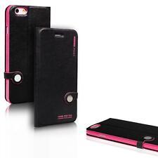 Book Case für Apple iPhone 4 4S Hülle Flip Cover Schutz Tasche Kapphülle