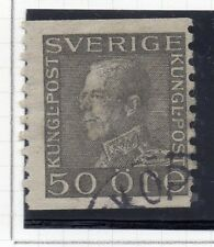 Sweden 1921-38 Early Issue Fine Used 50ore. 026751
