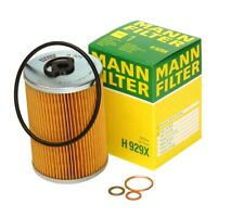 NEW For Mercedes R107 W108 W114 W123 Oil Filter Kit 000 180 06 09 MANN OEM H929x