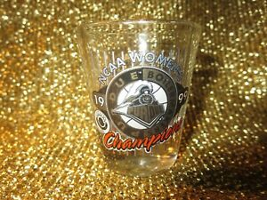 Purdue Boilermakers 1999 NCAA Womens Basketball Champs Shot Glass Glasses NEW