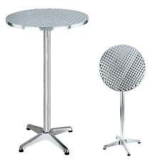 Tavolo Tavoli in alluminio pieghevoli da bar 60x100h
