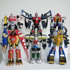 "6 x Power Rangers MEGAZORD 5"" Action Figure Bundle SPD SWAT OMEGA ZEO"