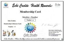 Echo Credits - Membership Collectors Card