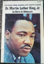 Dr. Martin Luther King, Jr. Biography Civil Rights Tempo 1977 Miklowitz OOP Rare