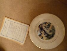 Vintage Crown Windsor 'Desert Orchid' Limited Edition Plate - New