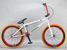 """Mafiabikes KUSH 2+ 20 inch bmx bike boys girls Mafia White 20"""""""