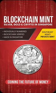 WallStreetBets 1oz Fine Silver Proof - Blockchain Mint