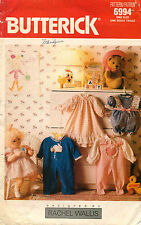 """1980's VTG Butterick Doll Clothes Pattern 6994 Size 23"""" tall"""