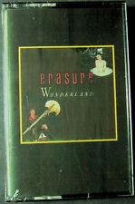 Erasure:  Wonderland  (Cassette, 1985, Sire) NEW