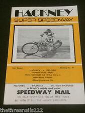 Speedway-Hackney V Lectura-PTU 3 1975